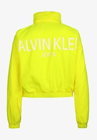 Calvin Klein Jeans - BACK LOGO - Windbreaker - yellow - 1