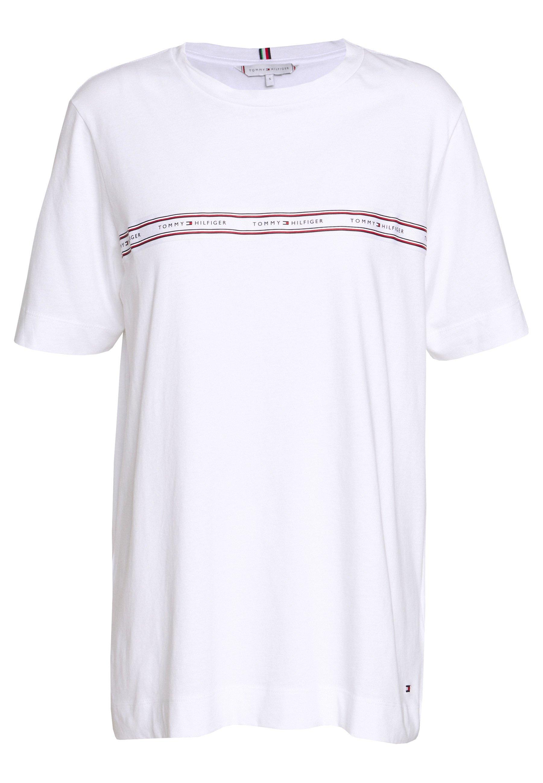 RAVEN T shirt med print white