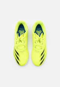 adidas Performance - X GHOSTED.4 IN UNISEX - Indoor football boots - solar yellow/core black/royal blue - 3