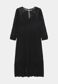 Vero Moda - VMGAIA 3/4 SLEEVE DRESS  - Cocktail dress / Party dress - black - 4