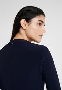 Lauren Ralph Lauren - MID WEIGHT DRESS COMBO - Jersey dress - lighthouse navy - 4