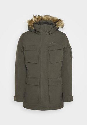 GLACIER CANYON - Winter coat - brownstone