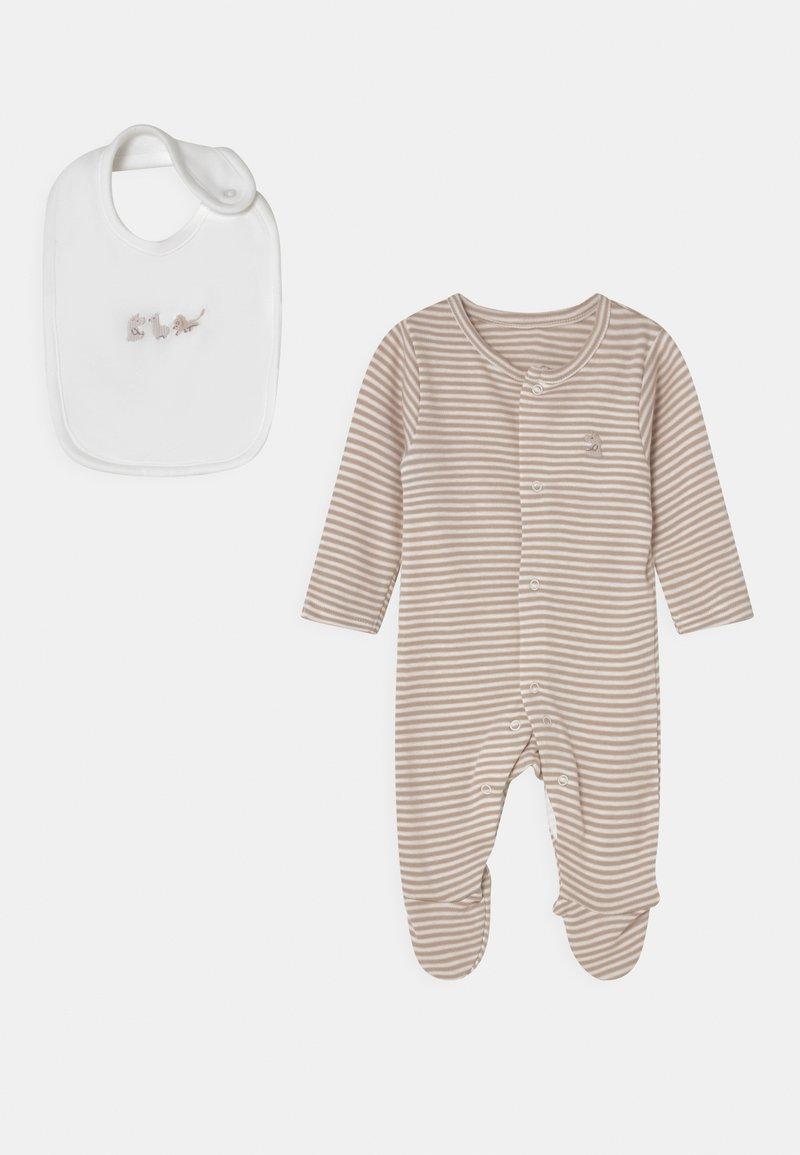 Marks & Spencer London - NEWBORN SET UNISEX - Sleep suit - opaline
