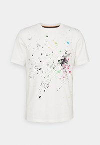 Paul Smith - GENTS PAINT SPLATTER UNISEX - Print T-shirt - white - 5