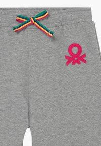 Benetton - Spodnie materiałowe - grey - 3