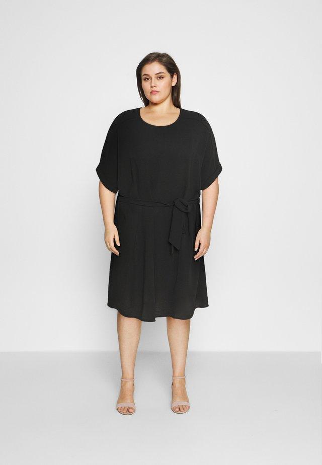 CARJACKIE KNEE DRESS - Korte jurk - black