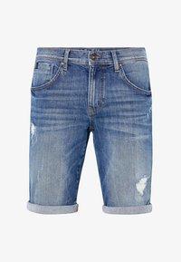 Harlem Soul - HARLEM  - Denim shorts - blue used - 9