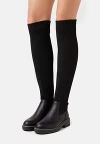 River Island Wide Fit - Over-the-knee boots - black - 0