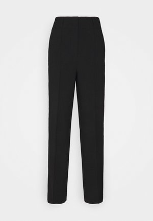 WIDE LEG PANTS SUMMER SUITIN - Kalhoty - black