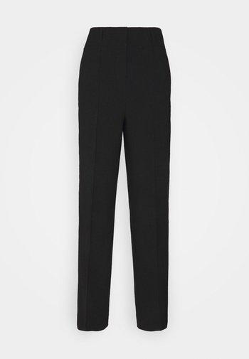 WIDE LEG PANTS SUMMER SUITIN - Trousers - black
