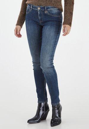 PZANNA - Jeans Skinny Fit - dark blue denim
