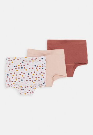 NMFTIGHTS 3 PACK - Pants - peach whip