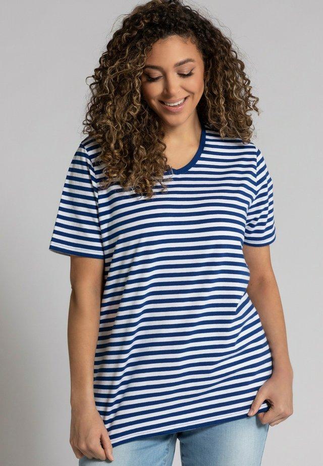 Print T-shirt - königsblau