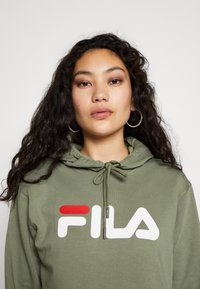 Fila Tall - PURE HOODY - Jersey con capucha - sea spray - 4