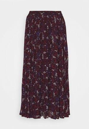 ZINNIA - Pleated skirt - azalea