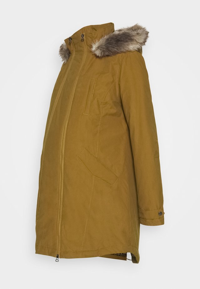 MILA - Abrigo de invierno - bronze brown