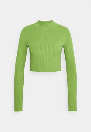 LONG SLEEVE - Strikkegenser - apple green