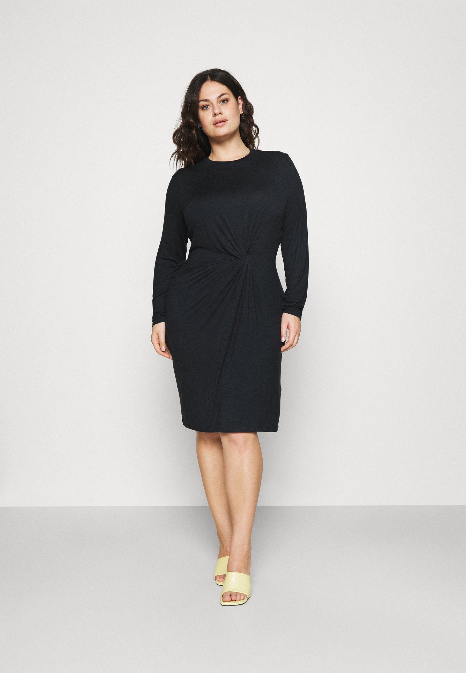 Women PCNEORA KNOT DRESS  - Jersey dress