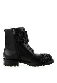 PRIMA MODA - ACATE - Lace-up ankle boots - black - 3