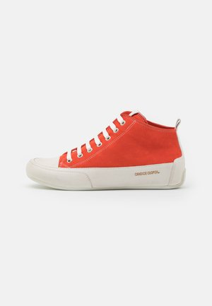 MID - Sneakers hoog - rosso/panna