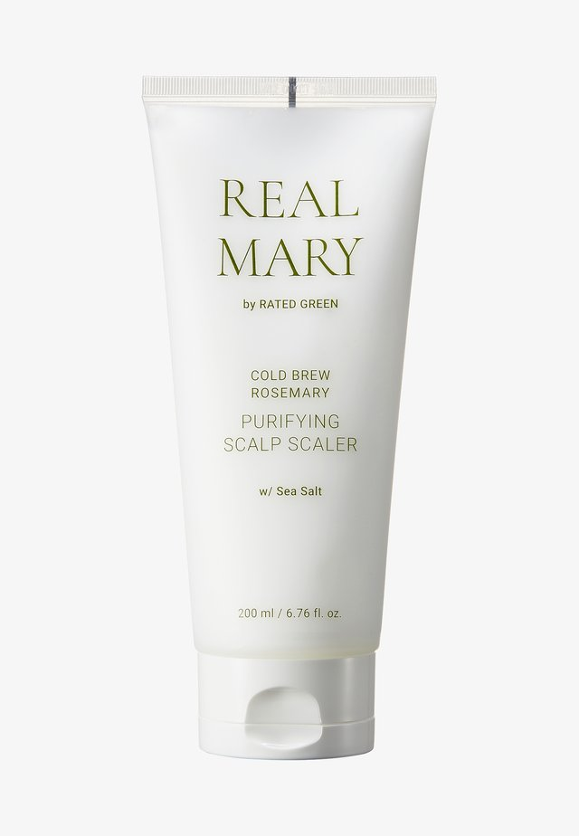 REAL MARY PURIFYING SCALP SCALER (SEA SALT) - Hårpleje - -