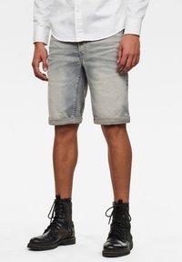 G-Star - D-STAQ 3D  - Denim shorts - medium aged - 0