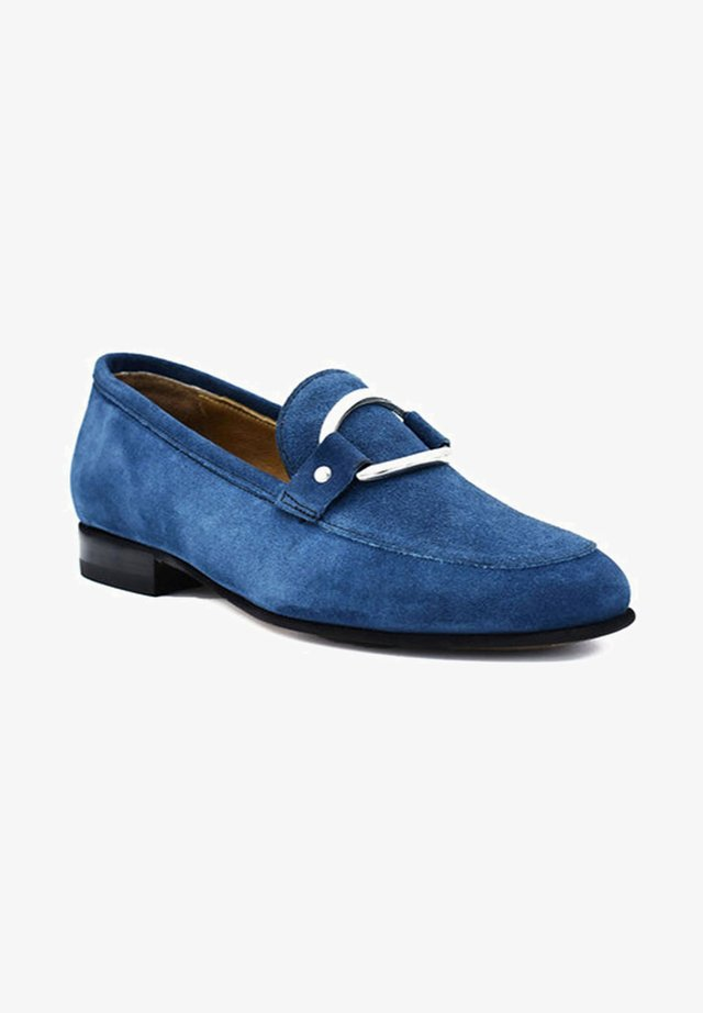 Loaferit/pistokkaat - ocean blue