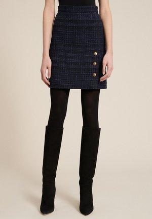 FRUSCIO - A-line skirt - var blu