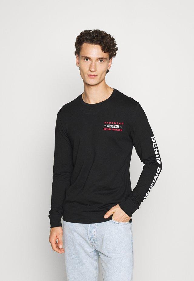 T-DIEGOS-LS-K40 T-SHIRT - Langærmede T-shirts - black