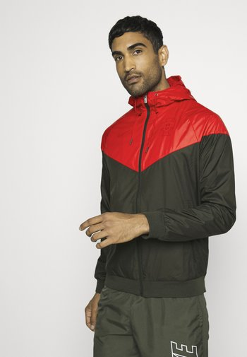 PORTUGAL FPF - Giacca sportiva - sequoia/sport red/gym red