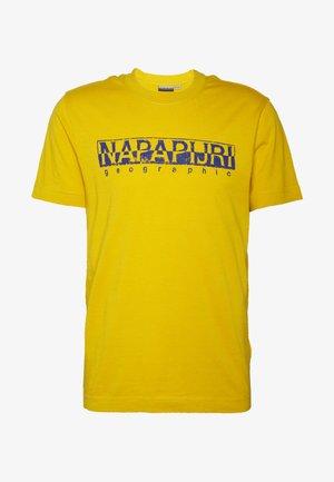 SOLANOS - T-shirt con stampa - mango yellow