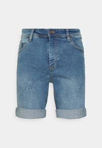 Denim Project - LIGHT DESTROY - Denim shorts - sicily blue - 4