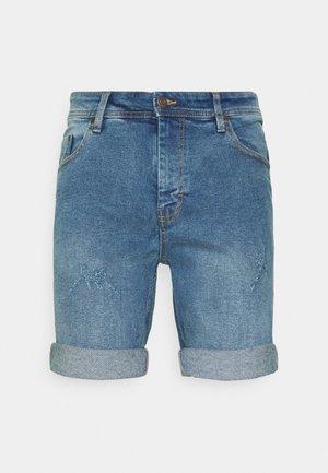LIGHT DESTROY - Shorts di jeans - sicily blue