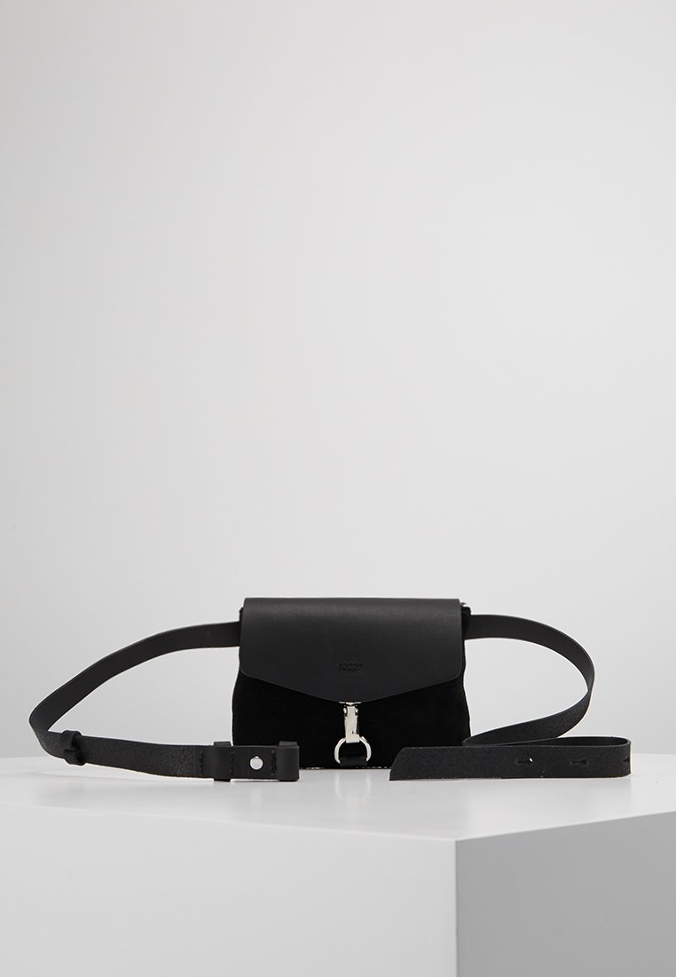 mint&berry - LEATHER - Bum bag - black