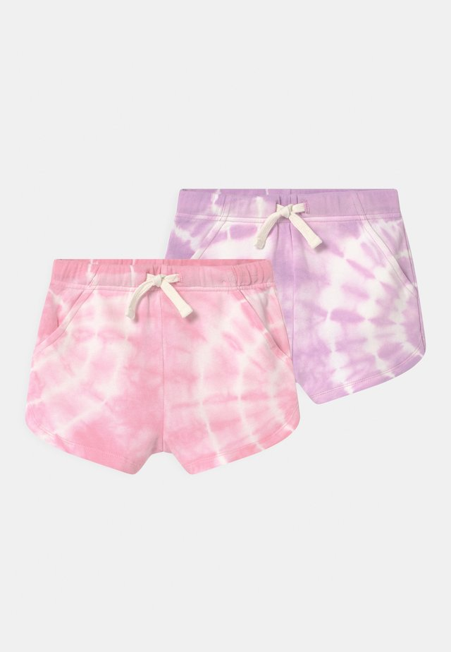 GIANNA 2 PACK - Shorts - cali pink/pale violet
