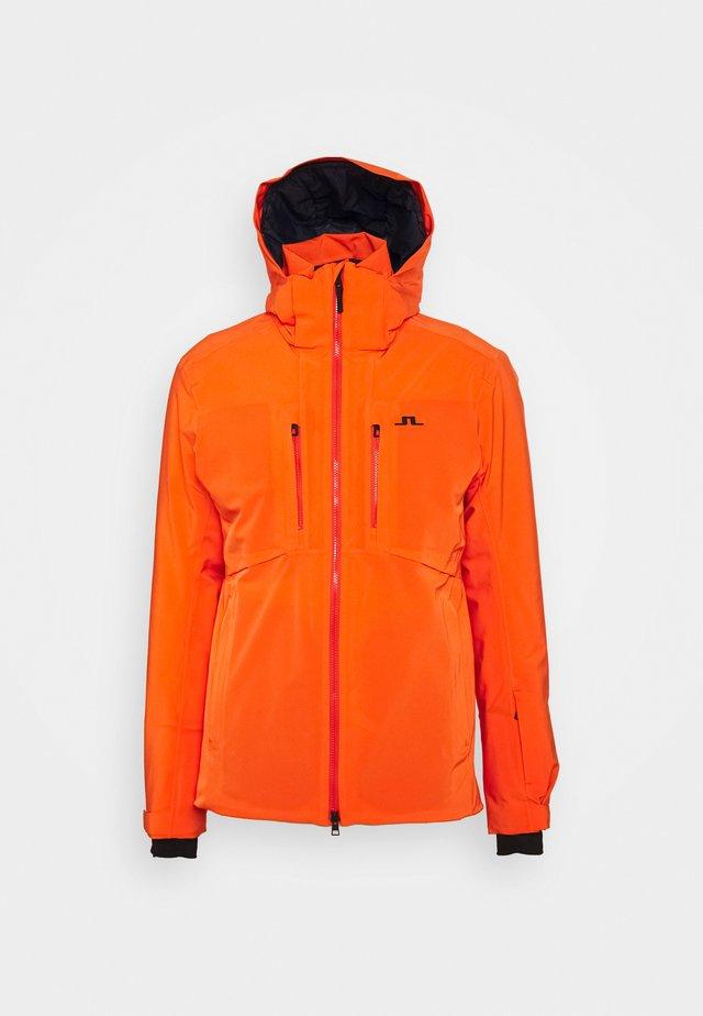 RICK SKI JACKET - Lyžařská bunda - juicy orange