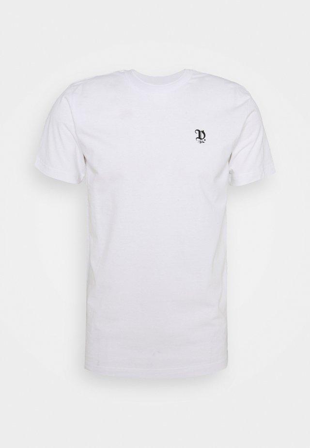 GOTHIC UNISEX - T-shirt print - white