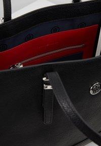 Tommy Hilfiger - HONEY MED TOTE - Handbag - black - 4