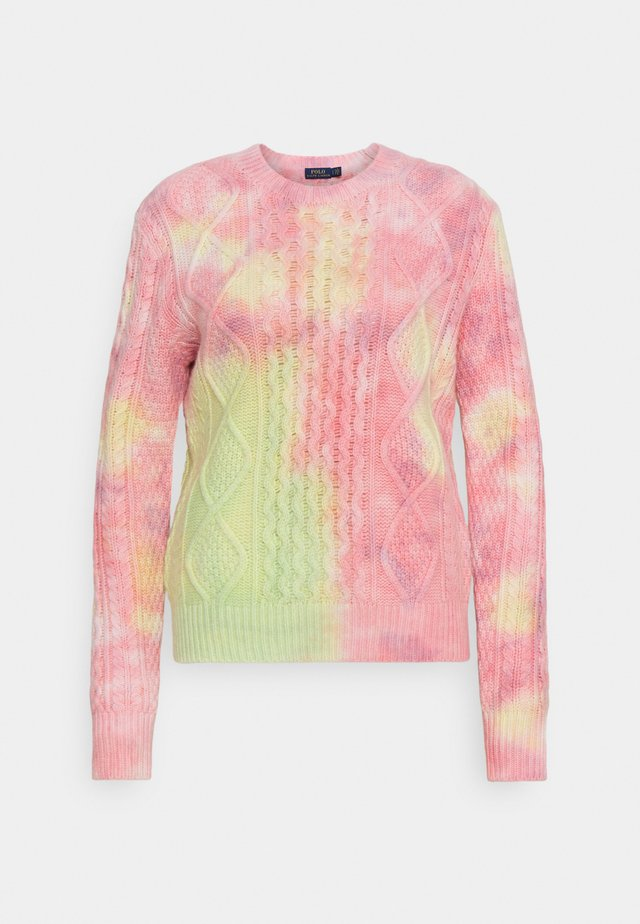CLASSIC LONG SLEEVE SWEATER - Svetr - tie dye