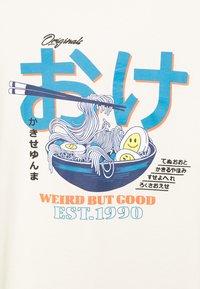 Jack & Jones - JORPAUL TEE CREW NECK - T-shirt med print - cloud cream - 2