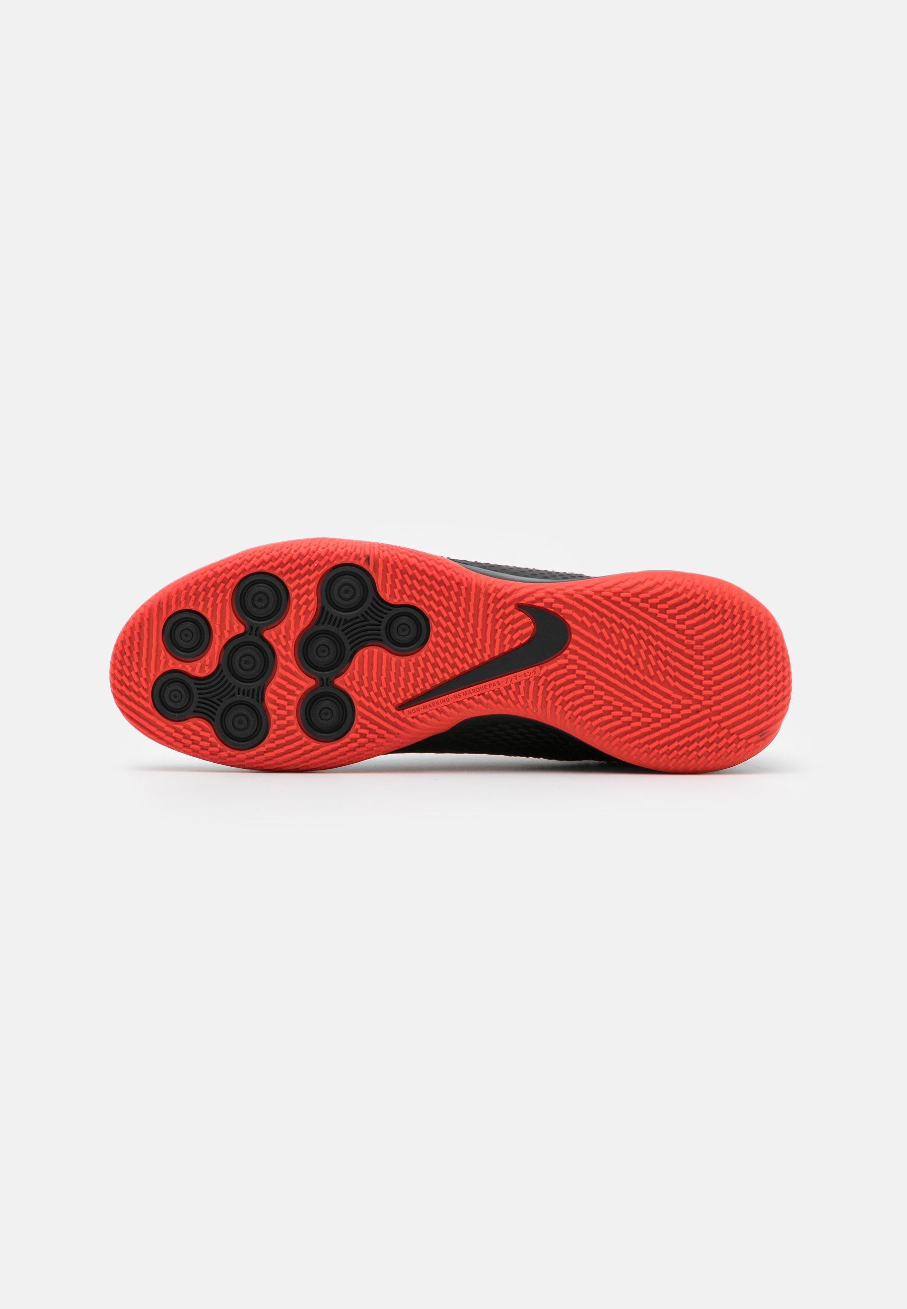 Nike Performance Phantom Academy Ic - Indendørs Fodboldstøvler Black/chile Red/dark Smoke Grey