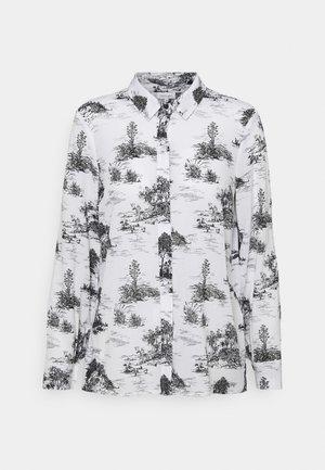 LA VINETA - Button-down blouse - white