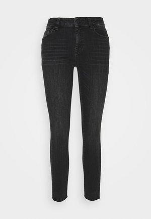 DIVA CROPPED SUPER ROCKING - Jeans Skinny Fit - black