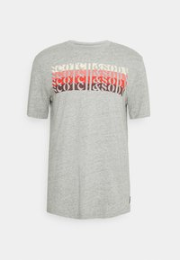 Scotch & Soda - LOGO - T-shirt print - grey melange - 5