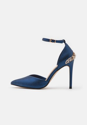 JOLENE - Zapatos altos - navy
