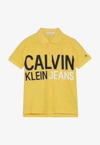 Calvin Klein Jeans - STAMP LOGO  - Polo shirt - yellow - 2