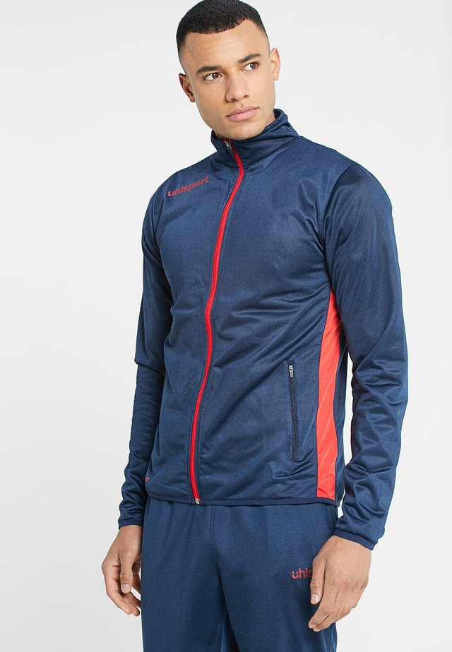 ESSENTIAL CLASSIC - Tracksuit - blue/red