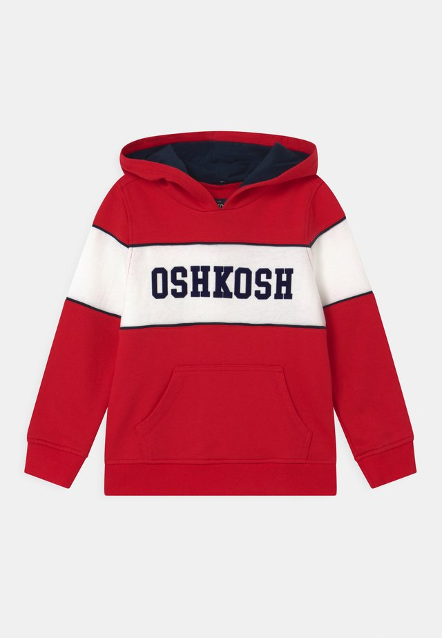 POP OVER HOODIE - Mikina - red