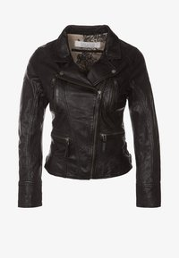 Oakwood - CAMERA - Veste en cuir - schwarz - 4