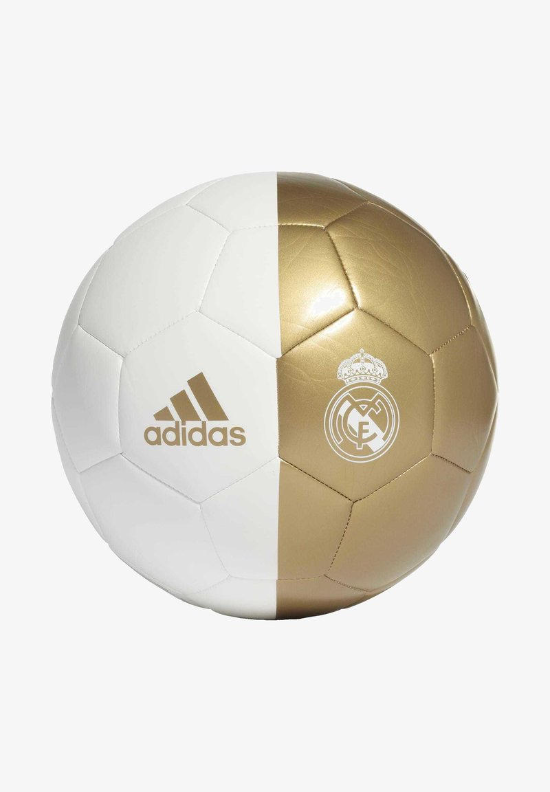 adidas Performance - REAL MADRID CAPITANO FOOTBALL - Voetbal - white/gold